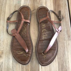 Sam Edelman Brown Leather sandals